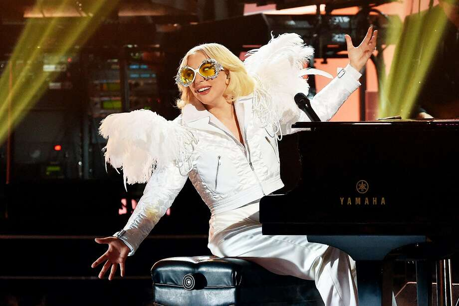 NEW YORK, NY - JANUARY 30:  Recording artist Lady Gaga performs onstage during 60th Annual GRAMMY Awards - I'm Still Standing: A GRAMMY Salute To Elton John at the Theater at Madison Square Garden on January 29, 2018 in New York City.  (Photo by Michael Kovac/Getty Images for NARAS) Photo: Michael Kovac / Getty Images For NARAS