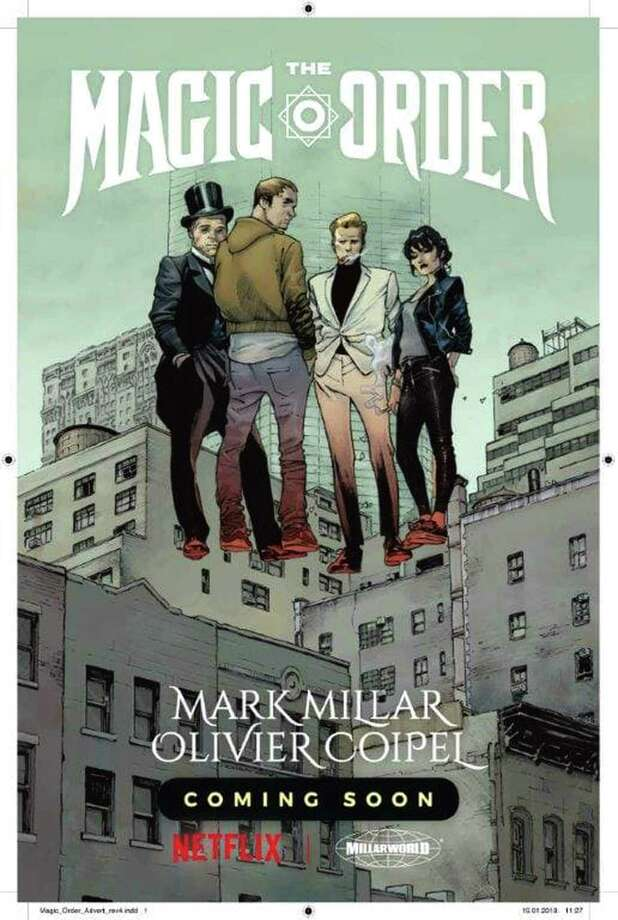 "Netflix's first Millarworld comic, ""The Magic Order,"" debuts in June. Photo: Netflix Comics / Netflix Comics"