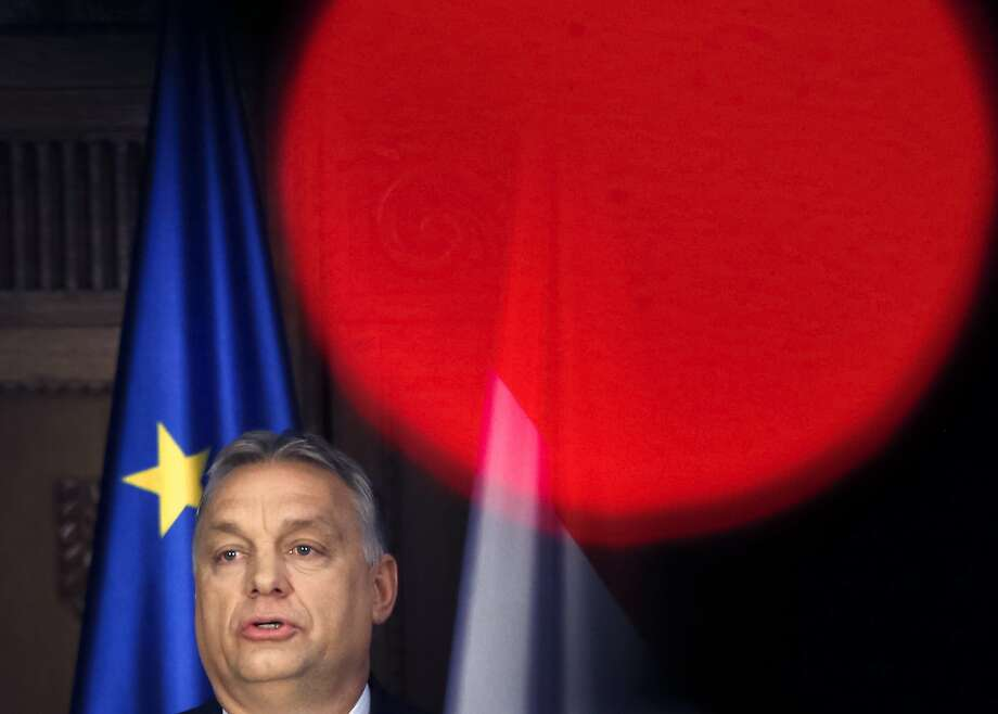 Hungarian Prime Minister Viktor Orban is expected to win a third consecutive term. Photo: Darko Vojinovic / Associated Press