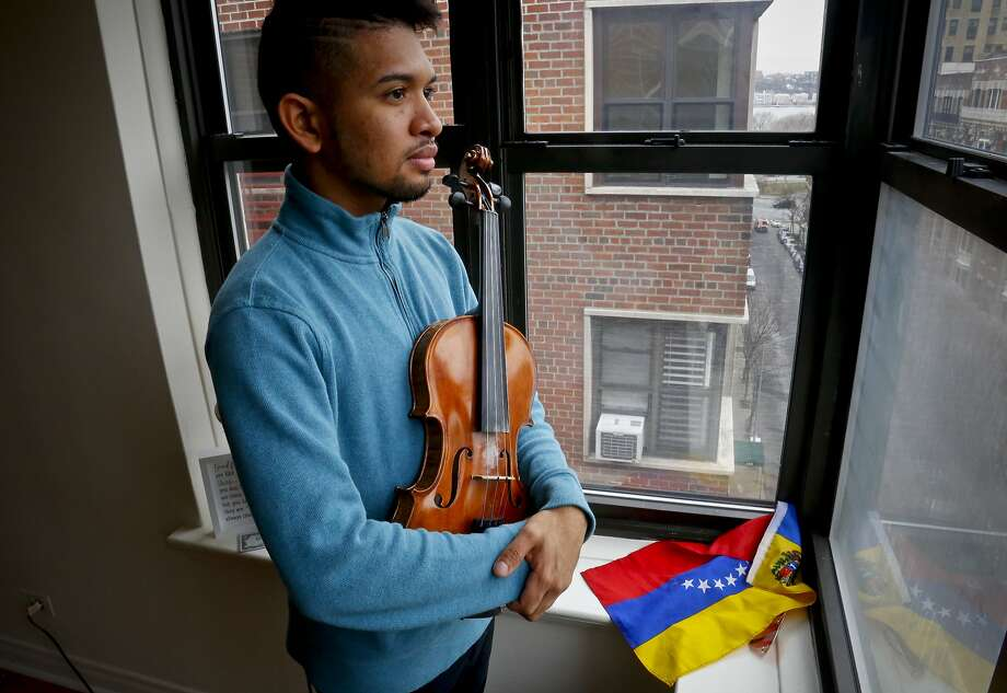Wuilly Arteaga gained international fame last year as a young face of the Venezuelan opposition. Photo: Bebeto Matthews / Associated Press