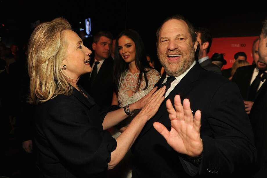 Failed presidential candidate Hillary Clintonbroke her silence about allegations of sexual assault and harassment against Hollywood producer Harvey Weinstein. Clinton claims she was shocked and appalled — and said such behavior couldn't be tolerated.File photo: Secretary of State Hillary Rodham Clinton and producer Harvey Weinstein attend the TIME 100 Gala, TIME'S 100 Most Influential People In The World, cocktail party at Jazz at Lincoln Center on April 24, 2012 in New York City. Photo: Larry Busacca