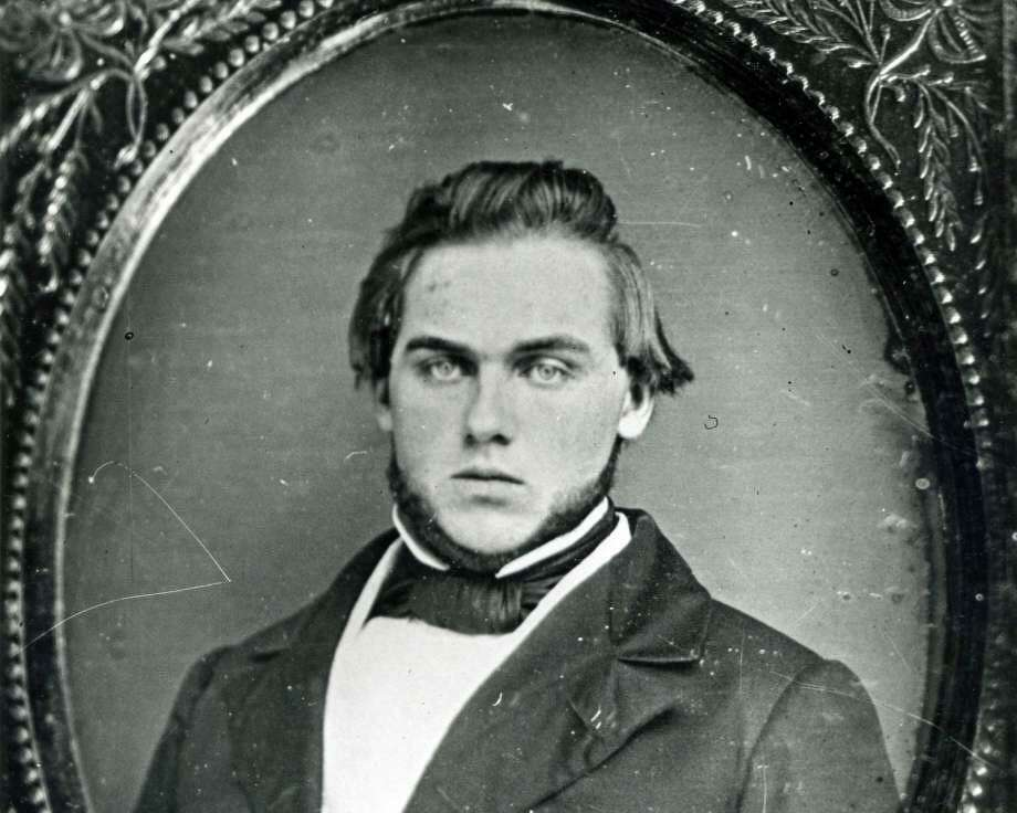 A photograph of Daniel Merritt Mead, circa 1857. Mead was a Greenwich attorney, who was commissioned a major in the 10th Regiment Connecticut Volunteer Infantry. He died in 1962 while home in Greenwich on sick leave. Photo: / Greenwich Historical Society