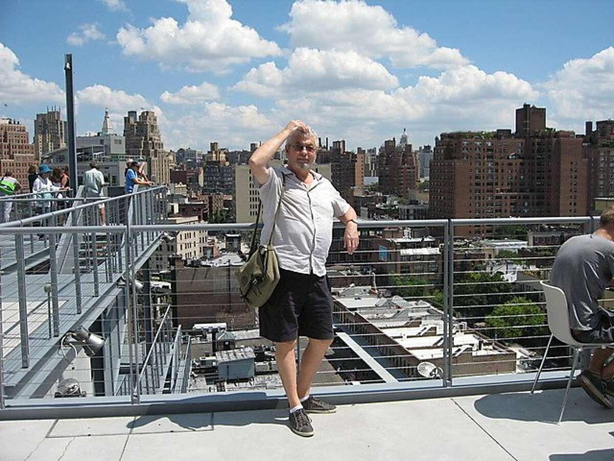David Bonetti, former San Francisco Examiner Art Critic in New York City
