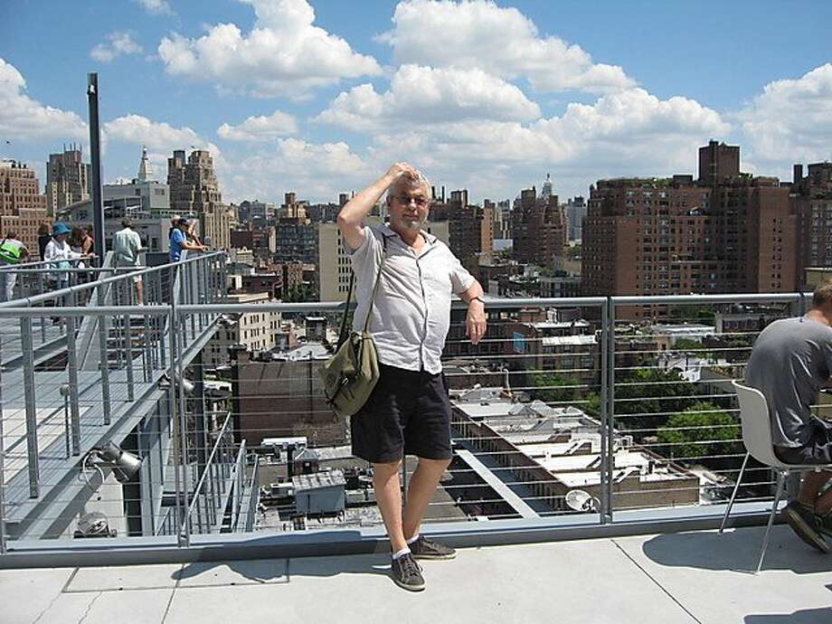 David Bonetti. who wrote for the S.F. Examiner from 1989 to 2000, then The Chronicle until '02, visits N.Y.'s Whitney Museum of American Art in 2015. Photo: Amanda Doenitz 2015