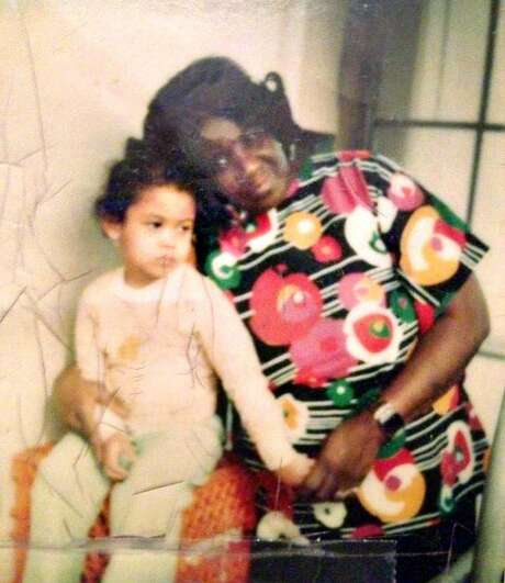 London Breed, age 3, in 1977 with her grandmother,� Comelia Brown. Photo: Courtesy London Breed