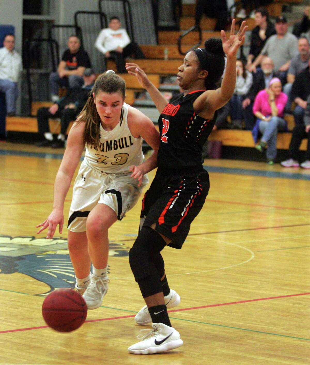 Trumbull's Julie Keckler will play for the Girls West team in the JCC Classic on Sunday at the Shehan Center.