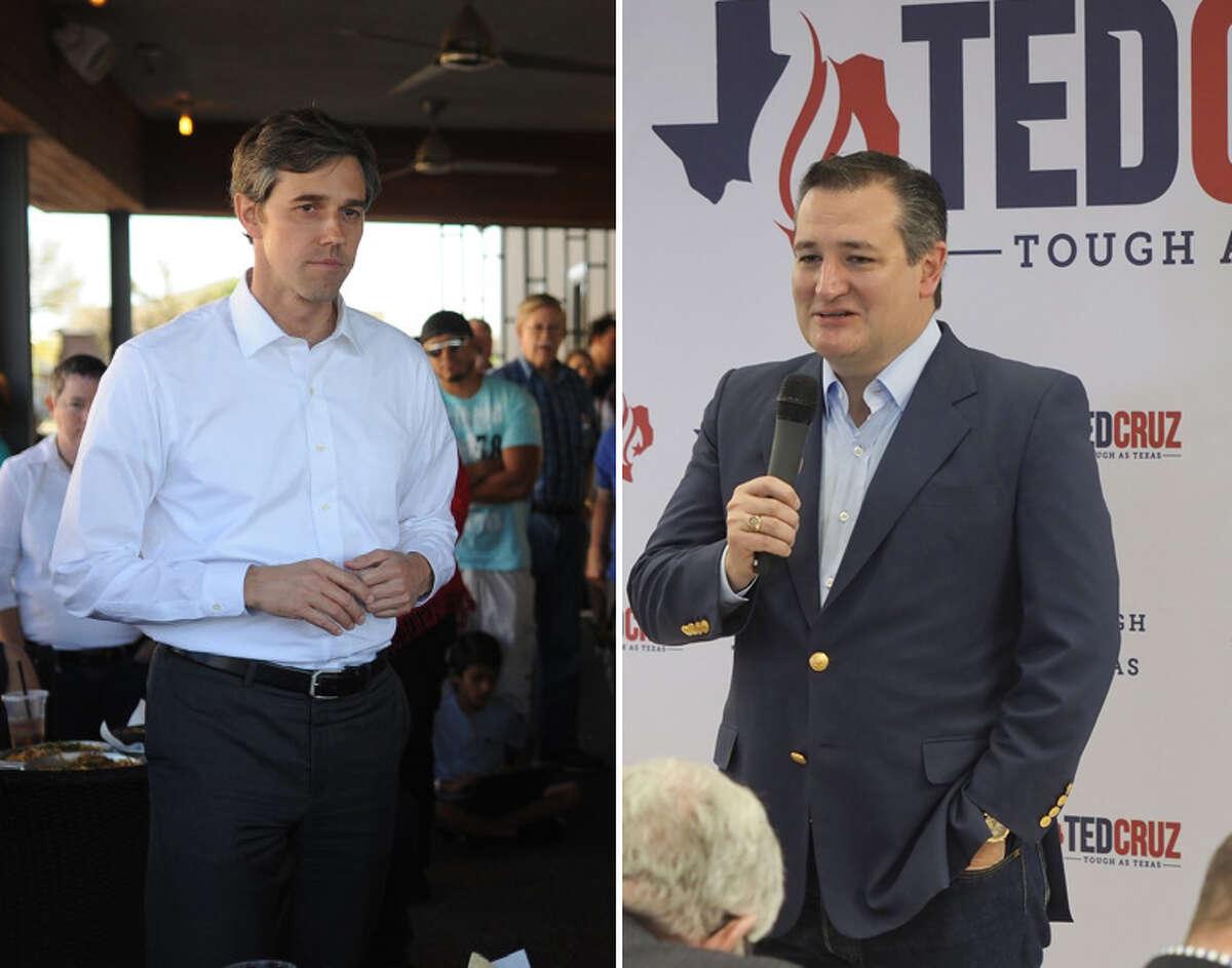 SenatorTed Cruz will face U.S. Rep. Beto O'Rourke, D-El Paso, in the November general election.