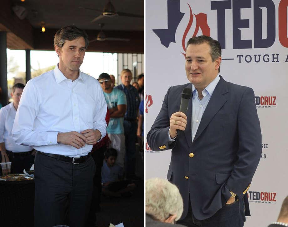 SenatorTed Cruz will face U.S. Rep. Beto O'Rourke, D-El Paso, in the November general election. Photo: Midland Reporter-Telegram