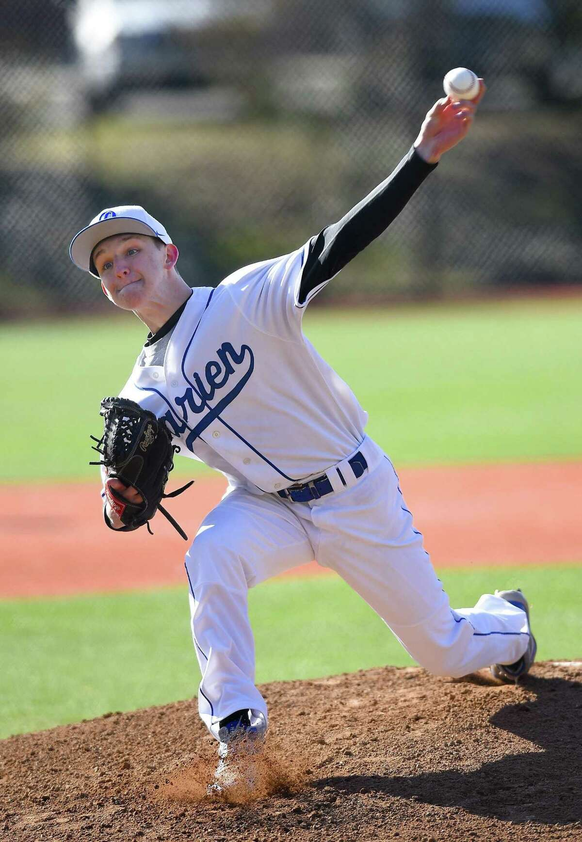 Darien's Justin Jordan struck out six and allowed just one hit in five innings as Darien blanked NFA 1-0 on Thursday.