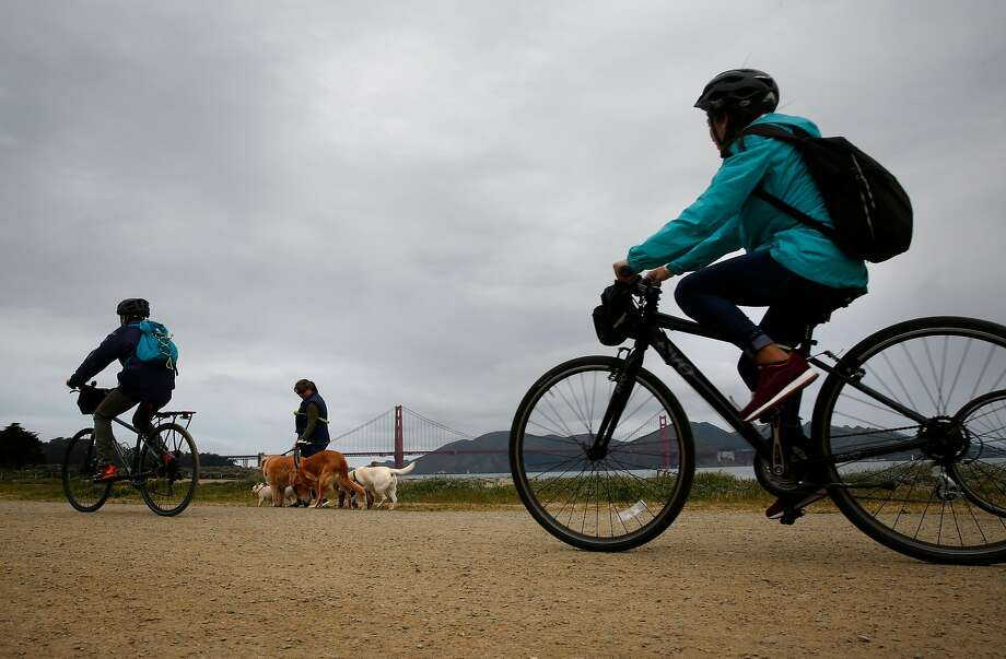 Light rain should hit most parts of the Bay Area on Tuesday afternoon and continue into Wednesday, forecasters said. Photo: Michael Macor / The Chronicle
