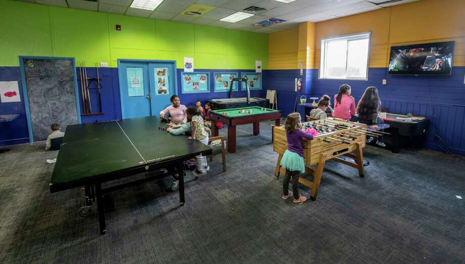 New rugs and paint in the recreation area at the Boys and Girls Club Thursday Apr. 5, 2018 in Rensselaer, N.Y. (Skip Dickstein/Times Union) Photo: SKIP DICKSTEIN / 20043417A