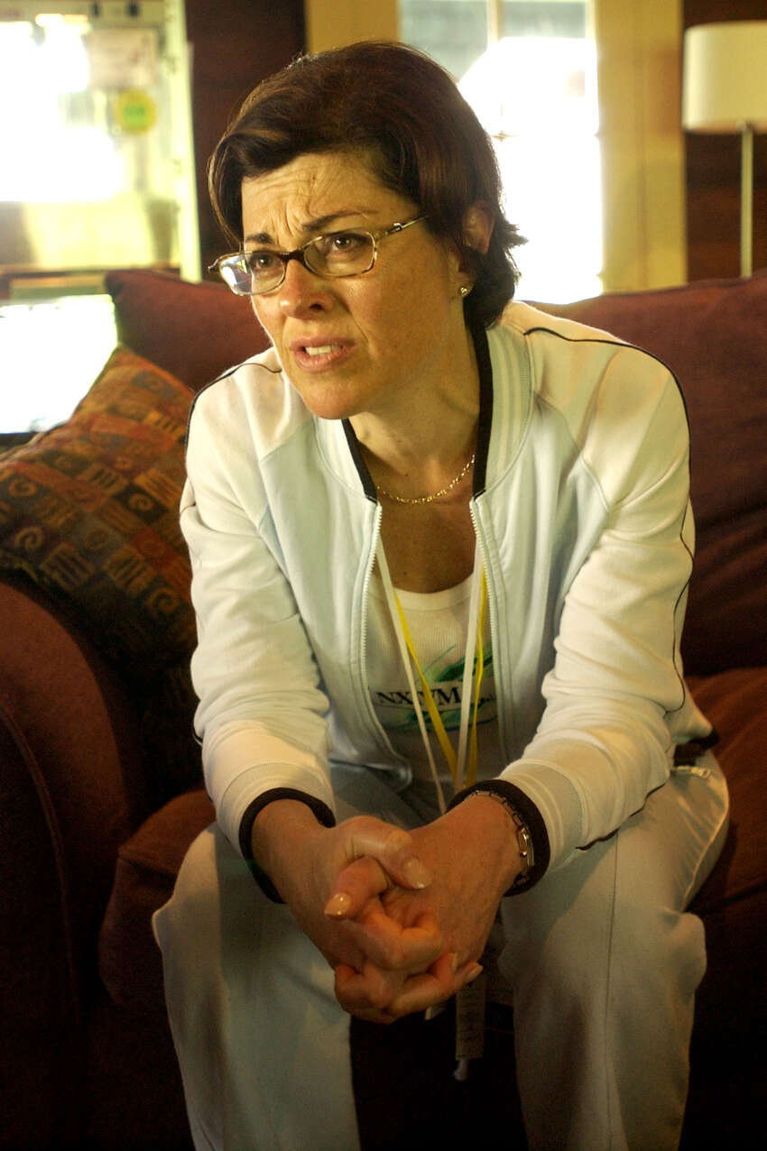 Nancy Salzman, NXIVM's president, during an interview Silver Bay Center on Lake George, for Vanguard week, on August 27, 2003. Her guilty plea marked the unraveling of Raniere's inner circle and the breakup of a close relationship she and Raniere had since they met in the mid-1990s. (Will Waldron/Times Union)