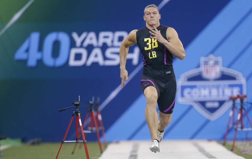 Position of player with the fastest 40-yard dash time Odds- Defensive back: 1/1 Wide receiver: 5/4 Running back: 7-4