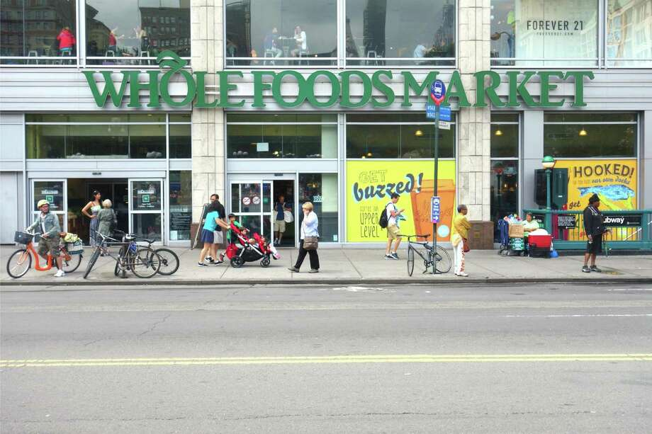 Whole Foods remains more expensive than some competing grocery chains, according to a report by investment firm Morgan Stanley. Photo: Dreamstime, HO / TNS / Dreamstime