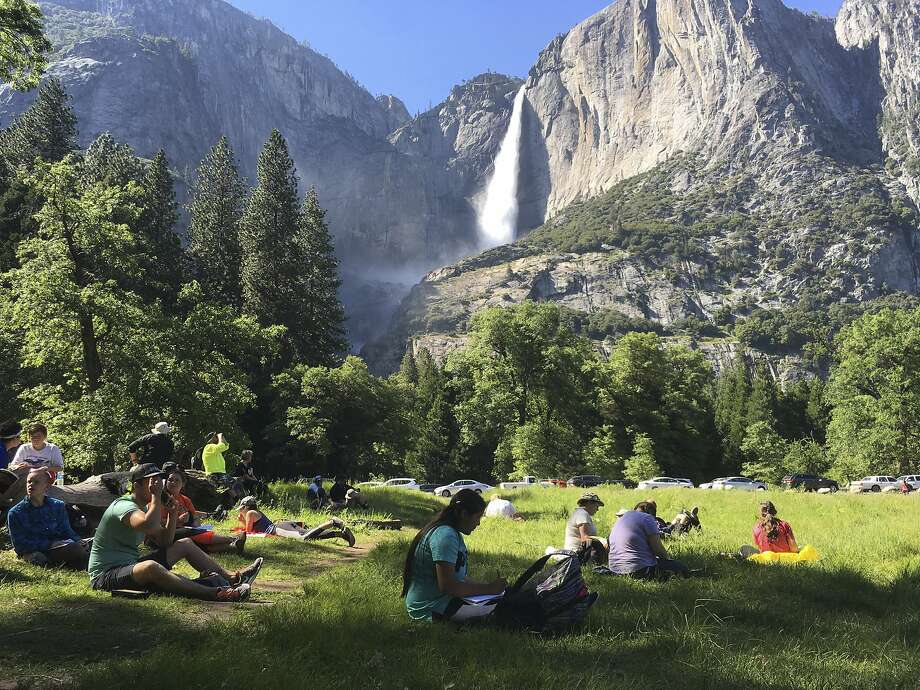 With a storm on the way, the National Park Service is closing off access to Yosemite Valley beginning Friday at 5 p.m. Photo: Scott Smith / Associated Press 2017