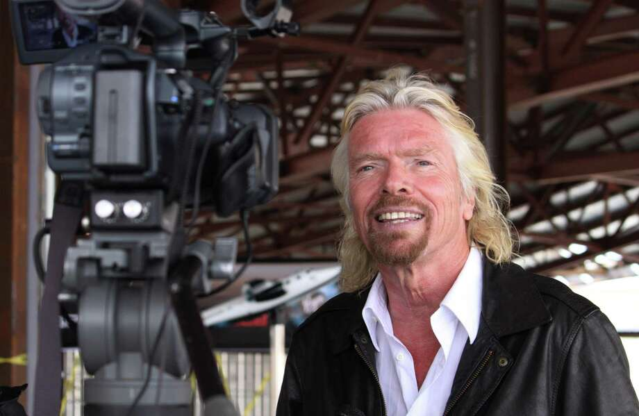 Virgin Galactic founder Richard Branson. Photo: Susan Montoya Bryan, STF / AP / AP