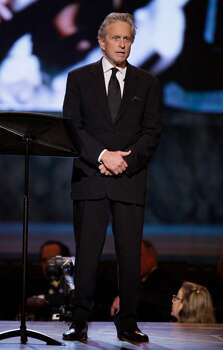 Michael Douglas appears onstage during the 61st Tony Awards, Sunday, June 13, 2010 in New York. (AP Photo/Richard Drew) Photo: Richard Drew / AP