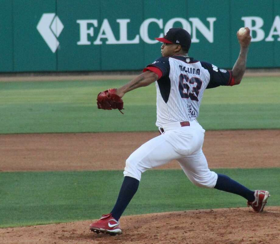 Nestor Molina's 17-inning scoreless streak to begin 2018 was snapped in a big way as the Tecolotes' reigning 2017 ERA champion was tagged for eight runs in the fifth and sixth innings Tuesday as the Tecos lost their fifth straight falling 10-5. Photo: Courtesy Of Tanya Sarmiento, File