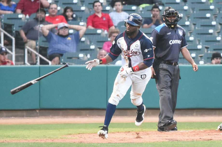 Tecolotes left fielder and leadoff hitter Jeremias Pineda will likely miss the remainder of the year after undergoing surgery in Guadalajara for a partial rupture of his cruciate ligament. Pineda led the team and finished 17th in the LMB with 10 stolen bases despite only playing in 15 games after an injury on April 14. Photo: Danny Zaragoza /Laredo Morning Times File