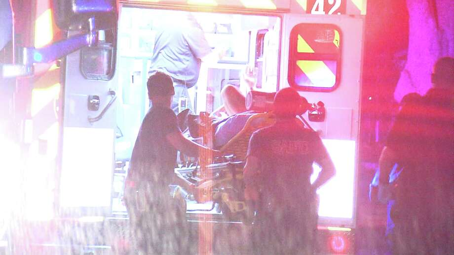 Police responded to the shooting around 3:45 a.m. in the 5700 block of Gomer Pyle Drive, where several people had been partying. Photo: Ken Branca