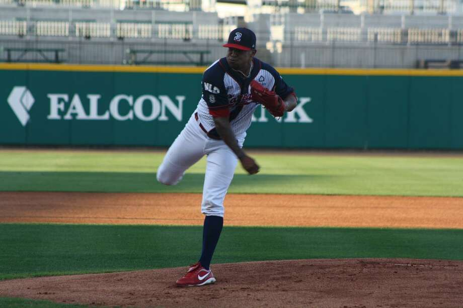 Pitcher Nestor Molina is one of two from the Tecolotes Dos Laredos to make this month's LMB All-Star Game. Molina finished the first season 4-4 with a 2.85 ERA and didn't give up a single home run on the mound in 53.2 innings of work. Photo: Courtesy Of Tecolotes Dos Laredos, File