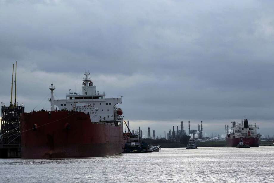 Federal authorities have warned of foreign ships carrying electronic equipment to probe Wi-Fi signals of energy facilities for weaknesses. Photo: James Nielsen, Staff / Houston Chronicle / © 2017  Houston Chronicle