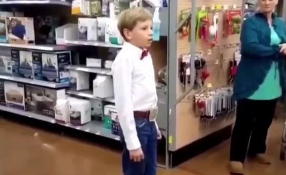 "A YouTube clip of a lanky little boy named ""Little Hank"" singing in Walmart has been seen nearly 20 million times. Mason Ramsey is obsessed with late landmark country 