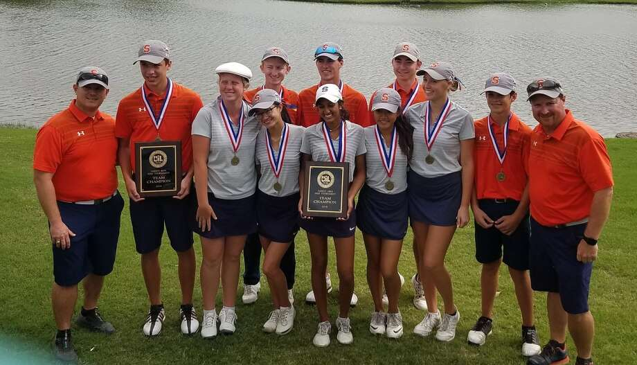 Seven Lakes won the girls and boys team championships at the District 19-6A tournament, finishing ahead of fellow regional qualifier Cinco Ranch in both standings. Photo: Seven Lakes High School