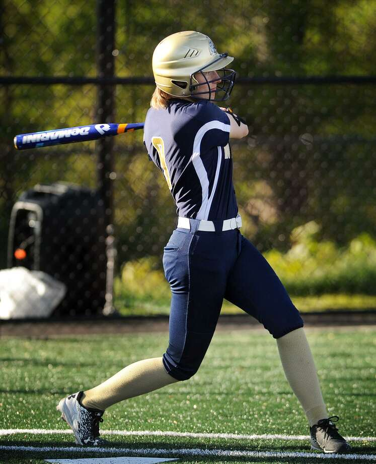 Notre Dame-Fairfield's Lucy Grant will be a key factor in the success of the Lancers' softball team this spring. Photo: Brian A. Pounds / Hearst Connecticut Media / Connecticut Post