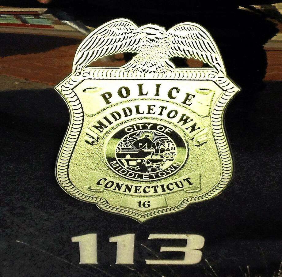 A Middletown police shield Photo: File Photo