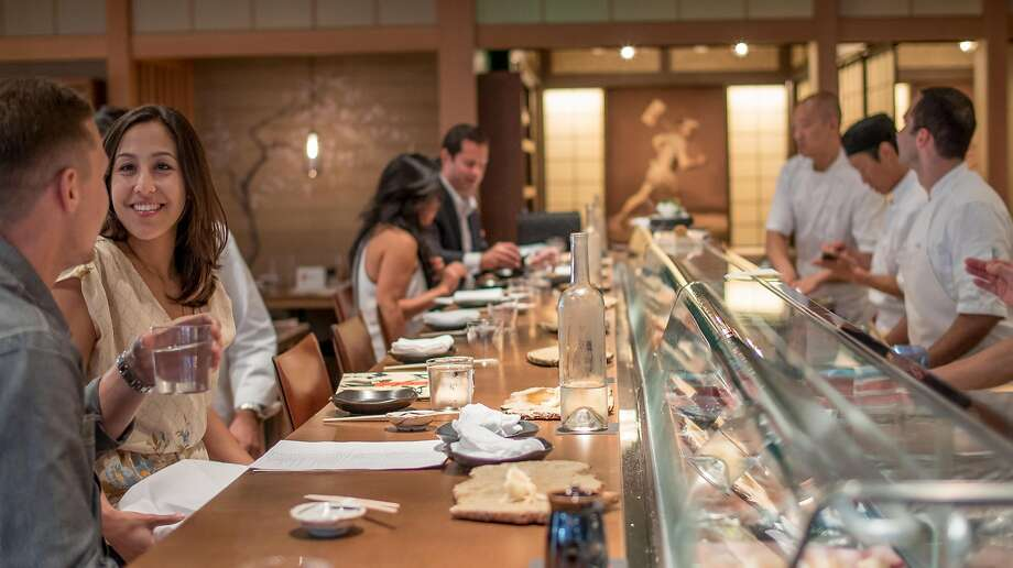 Pabu101 California St., San Francisco  The popular Michael Mina-helmed restaurant drew hungry basketball players ahead of the NBA final in June. Michael Bauer selected the Japanese restaurant as one of his top-100 for 2018.   Photo: John Storey, Special To The Chronicle