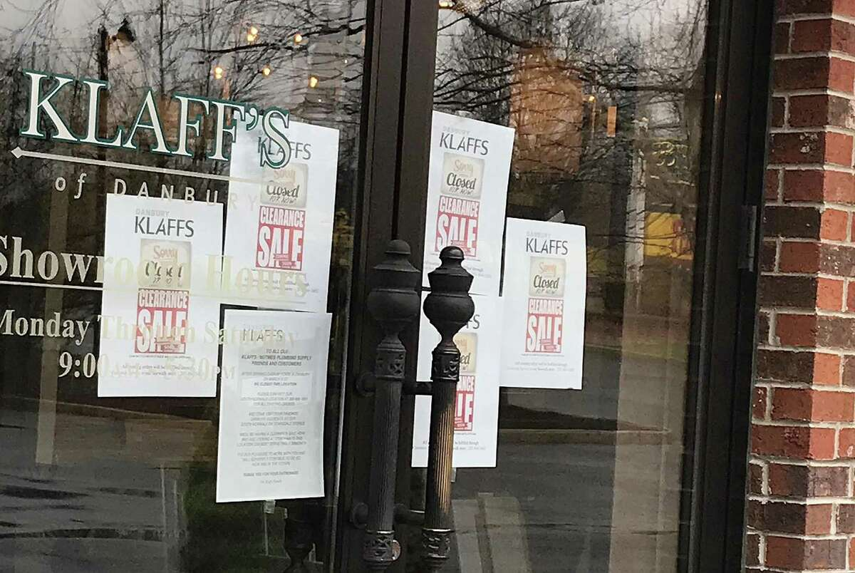 The Klaff's showroom in Danbury, Conn., has closed as it prepares for a clearance sale and the possible conversion to a distribution center for the Norwalk-based design company.