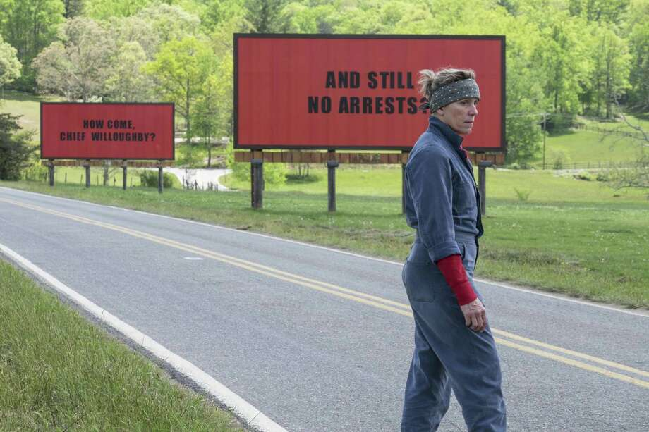 "Yale School of Drama graduate Frances McDormand won her second Oscar in March for ""Three Billboards Outside Ebbing, Missouri."" Photo: Courtesy Of Fox Searchlight / Associated Press / Fox Searchlight"