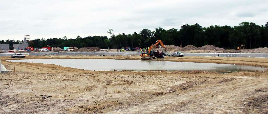 The lagoon in Balmoral is expected to open summer 2018. Photo: Kaila Contreras