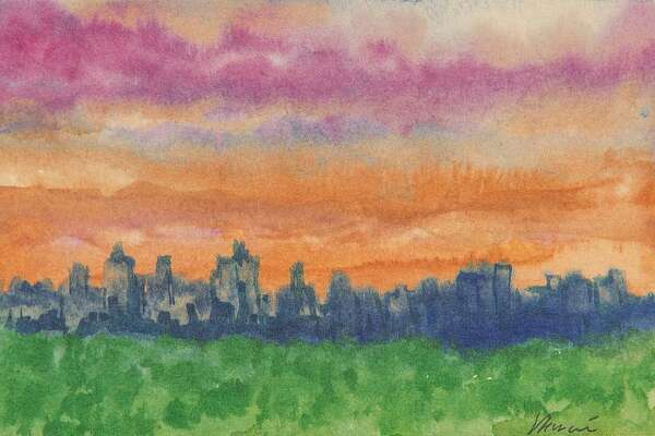 """Dawn at Ritz Carlton,"" by Jerry Garcia"