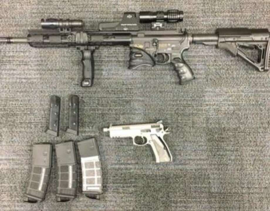 Police suspect that an Antioch man smuggled illegal guns into California. Photo: Contra Costa County Sheriff's Office