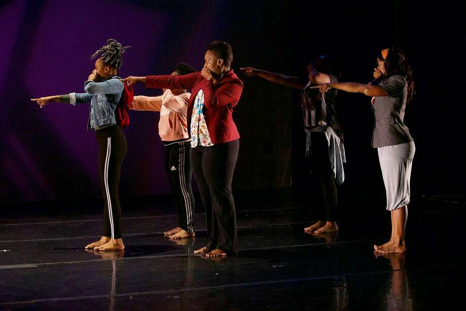 """""""Ain't No Turning Back,"""" choreographed by Andrea Vonny Lee, performed by Dimensions Dance Theater. Photo: Edward Miller"""