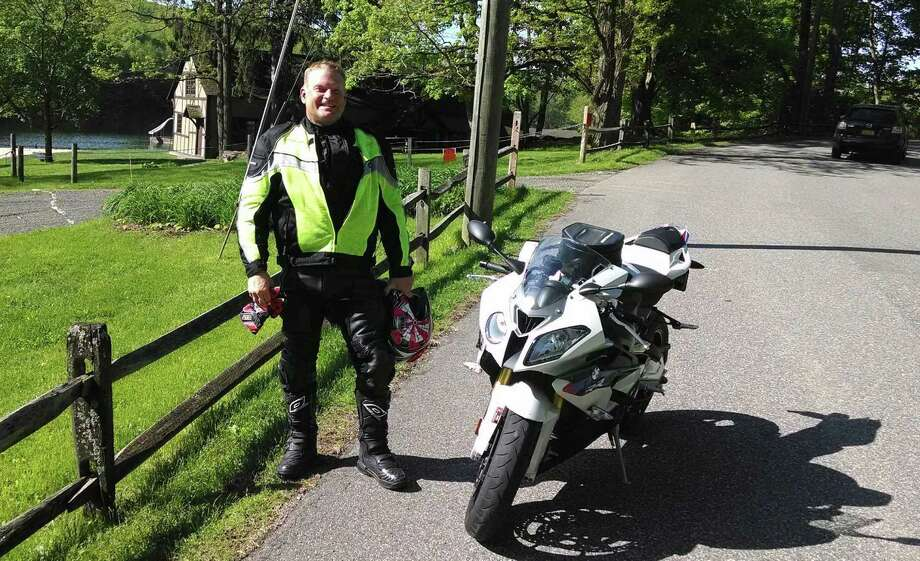 James McGee, 48, of Stamford, died Sunday, June 29, 2014, from injuries he sustained in a crash with a pickup on Harvard Avenue in Stamford, Conn. on Friday. Photo: Contributed Photo / Contributed Photo / Connecticut Post Contributed