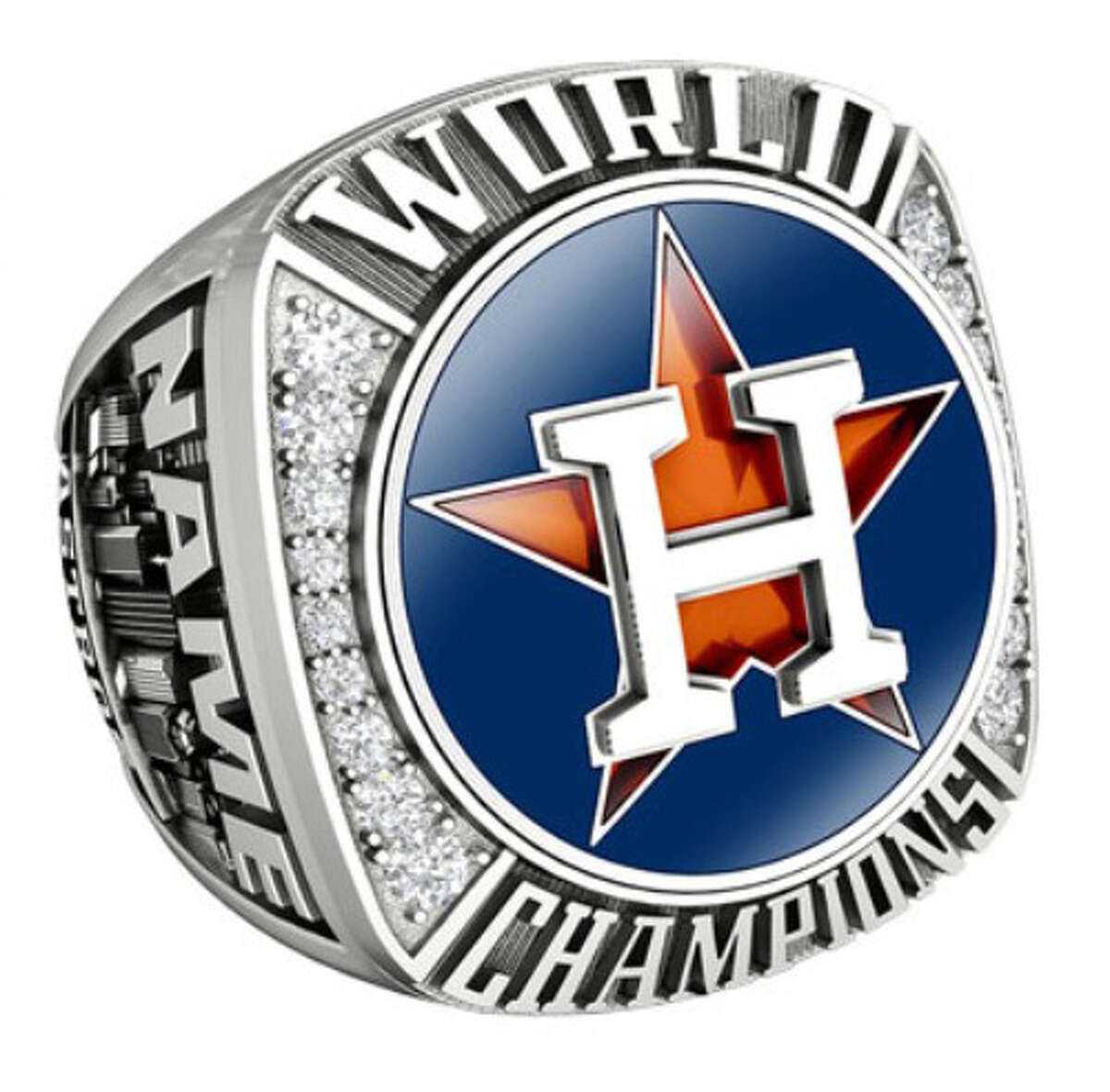 JOSTENS' ASTROS WORLD SERIES JEWELRY COLLECTION Astros fan ring $359