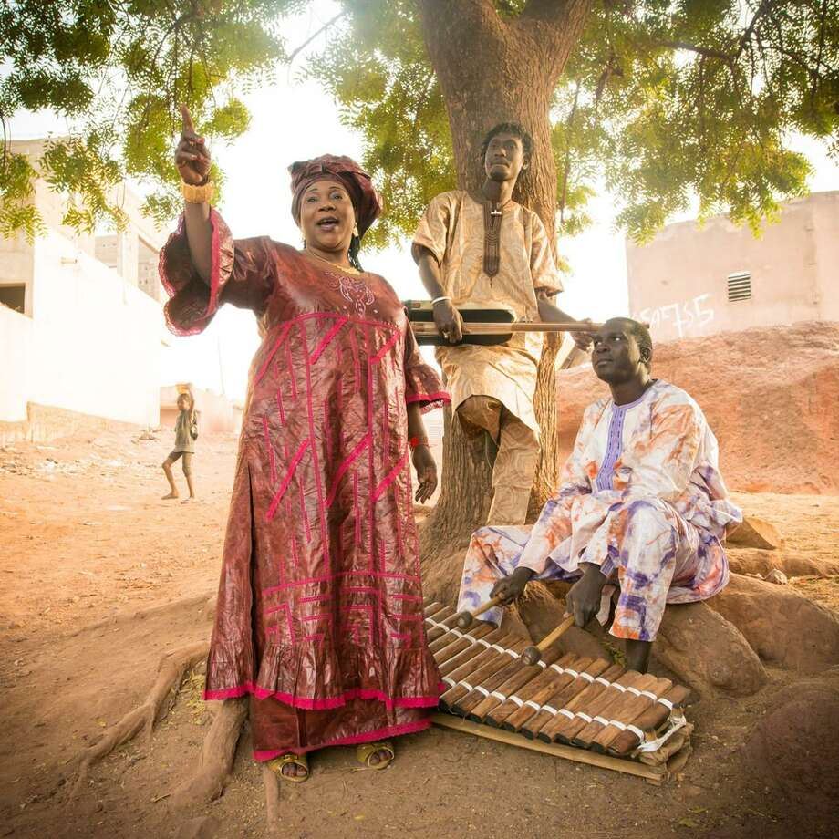 Trio Da Kali will be playing the entrancing music of southern Mali at Cafe Nine. Photo: Courtesy Of Trio Da Kali / © Youri Lenquette