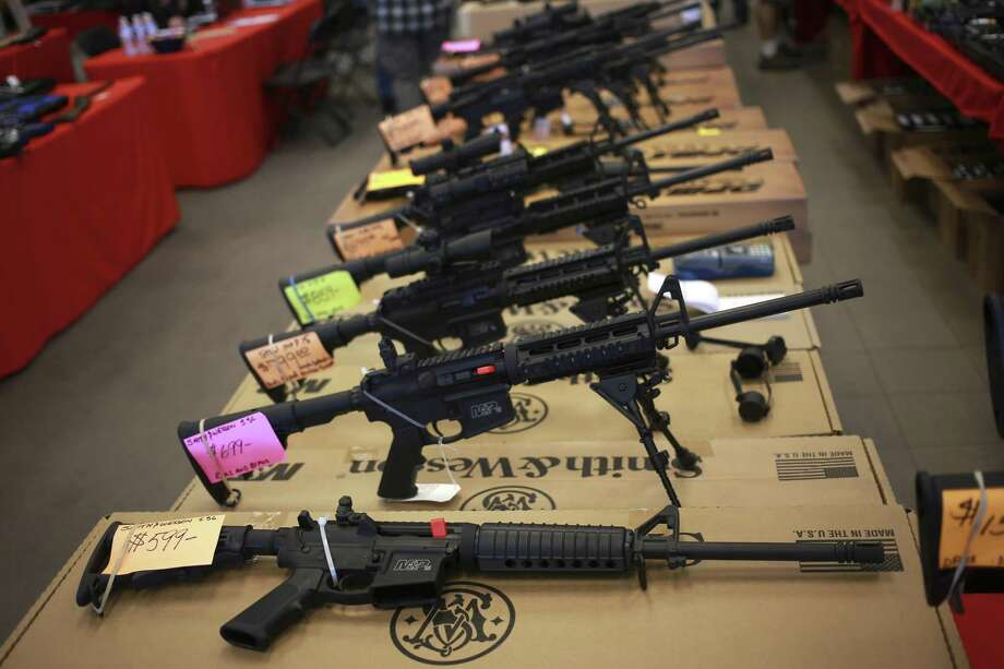 Whether to expand or limit gun use, except for the complete exclusion of handguns and stun guns, is up to the feds, or state or local governments, a fact lost in the current debate. Photo: File Photo /New York Times / NYTNS