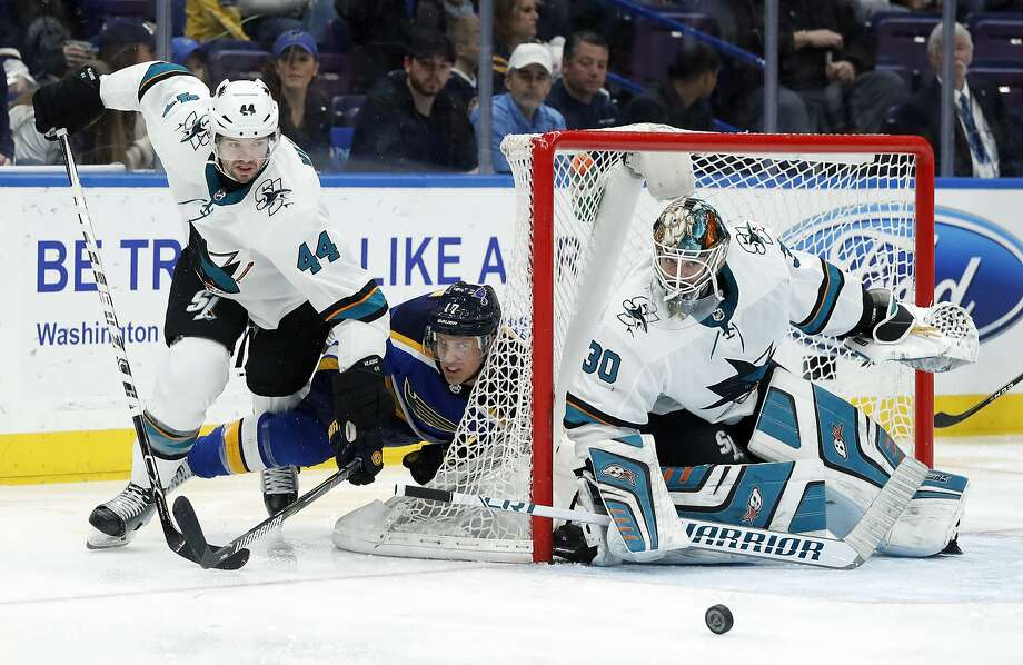 Could Sharks' Marc-Edouard Vlasic (left) get the Norris Trophy over teammate Brent Burns? Photo: Jeff Roberson / Associated Press