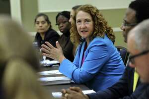 U.S. Rep. Elizabeth Esty during a visit to Western Connecticut State University in January 2018.