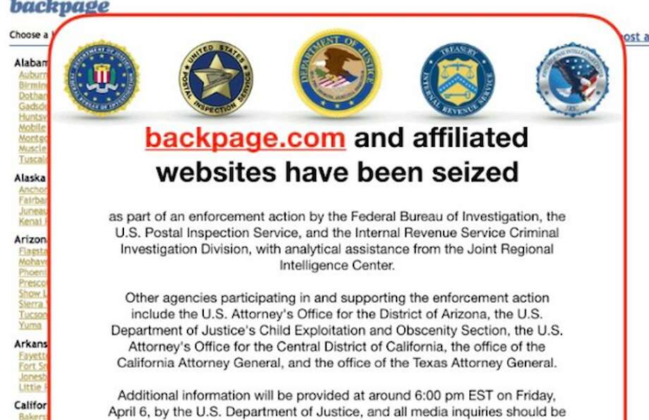 Classifieds Website Backpage Shut Down By Feds After Sex Trafficking Investigation Sfgate