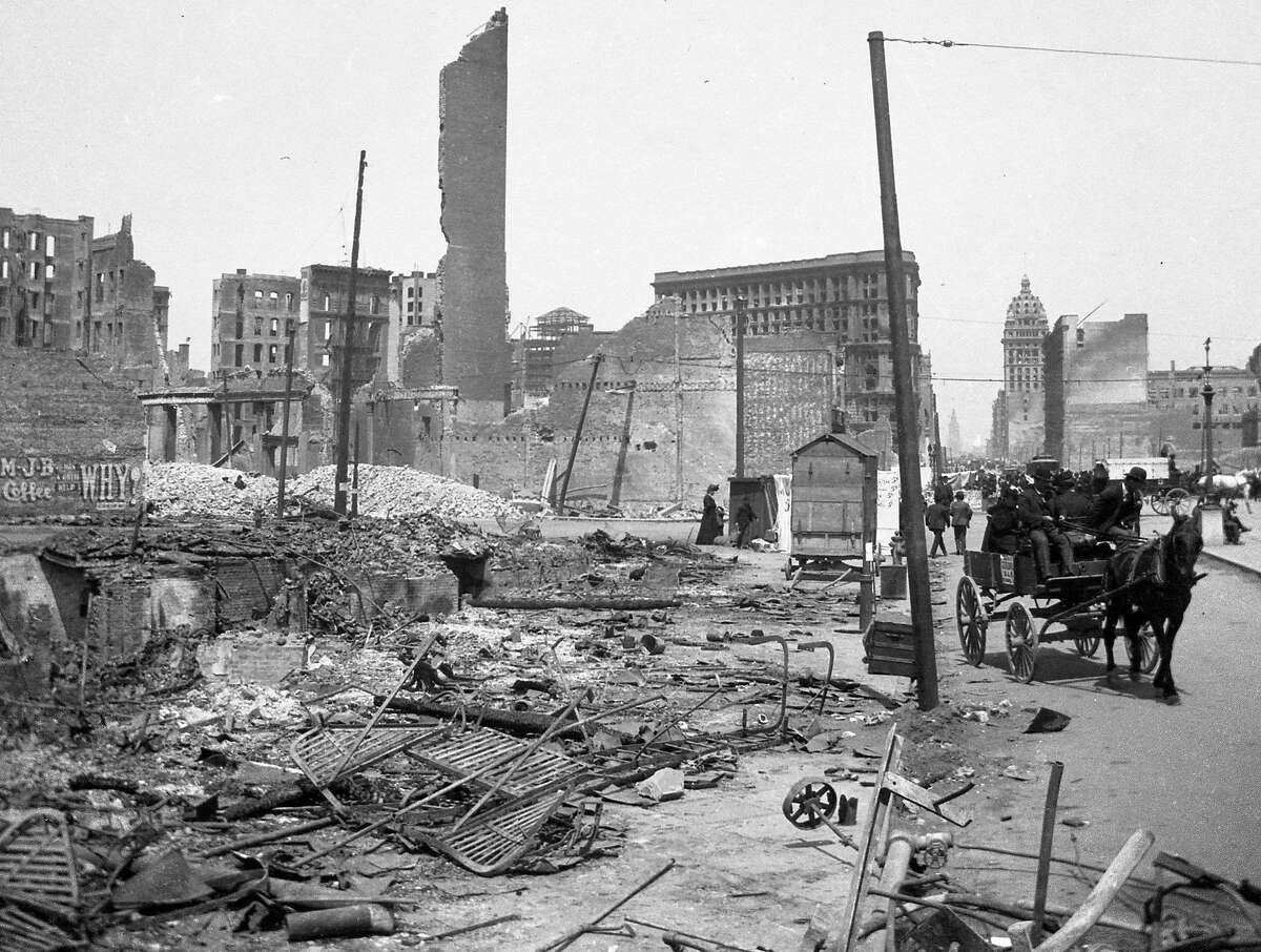 Negatives purchased by the 1906 San Francisco Earthquake, by editor Jack Wallace on May 31, 1962
