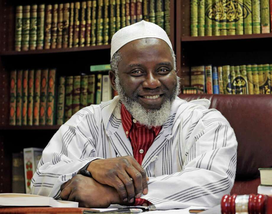 Imam Abdul-Rahman Yaki poses in his office at the Islamic Center of the Capital District on Wednesday, April 4, 2018, in Colonie, N.Y.   (Paul Buckowski/Times Union) Photo: PAUL BUCKOWSKI / (Paul Buckowski/Times Union)