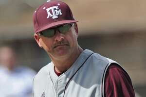 MANHATTAN, KS - April 03:  Head coach Rob Childress #29 of the Texas A&M Aggies during a game against the Kansas State Wildcats on April 3, 2011 at Tointon Stadium in Manhattan, Kansas.  (Photo by Peter G. Aiken/Kansas State/Getty Images)