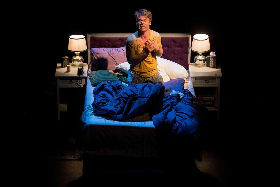 """Randy Harrison (playing Prior) during rehearsal of """"Angels in America"""" at Berkeley Rep's Roda Theatre. Photo: Santiago Mejia / The Chronicle"""