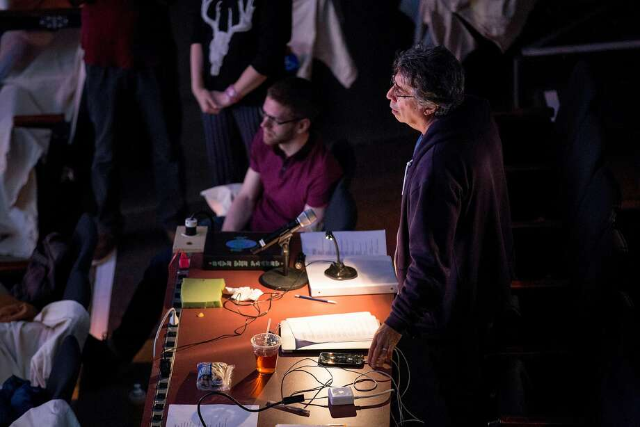 """Tony Taccone, the theater director, during a rehearsal of """"Angels in America"""" at Berkeley Rep's Roda Theatre. Photo: Santiago Mejia / The Chronicle"""
