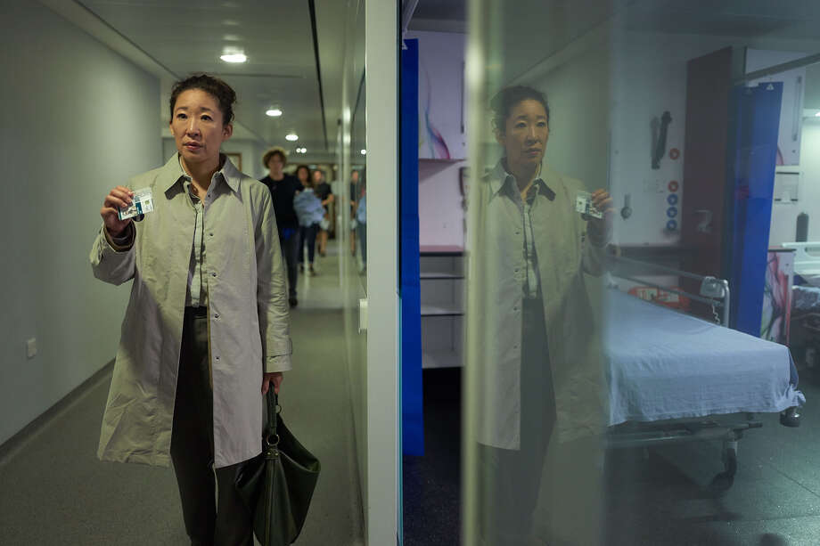 This new thriller stars Sandra Oh (Grey's Anatomy) as Eve, a London-based MI5 security services operative who's bored with her job and her comfortable life. All that changes when a witness protection case puts her on a collision course with deadly international assassin Villanelle (Jodie Comer, The White Princess). Photo: BBC AMERICA / BBC America